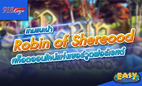 Robin of shereood
