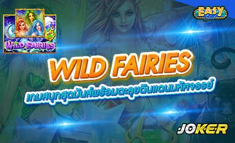 รีวิวเกม WILD FAIRIESจากค่าย joker123